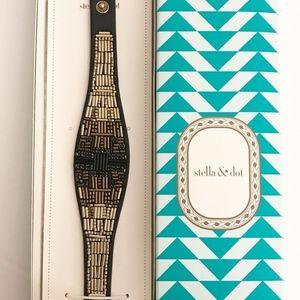 stella & dot jasper bracelet ~ ombre